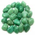 Wholesale 10 x Tumbled Green Quartz Crystal Gemstone (Reiki, Crystal Healing, Pagan, Occult,  Magic)