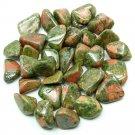 Wholesale 10 x Tumbled Unakite Jasper Crystal Gemstone (Reiki, Crystal Healing, Pagan, Occult)