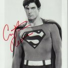Christopher Reeve Superman 8 x 10 Autographed Photo (Reprint 741 Great Gift Idea!)