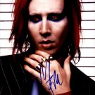 Marilyn Manson Awesome 8 x 10 Autographed / Signed Photo (Reprint 742 Great Gift Idea!)