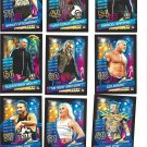 9 X Topps WWE Slam Attax 2020 Now, Then & Forever Reloaded Cards (Set #4)