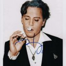 Johnny Depp, Benny & Joon, Edward Scissorhands 8 x 10 Autographed Photo (Reprint 813)