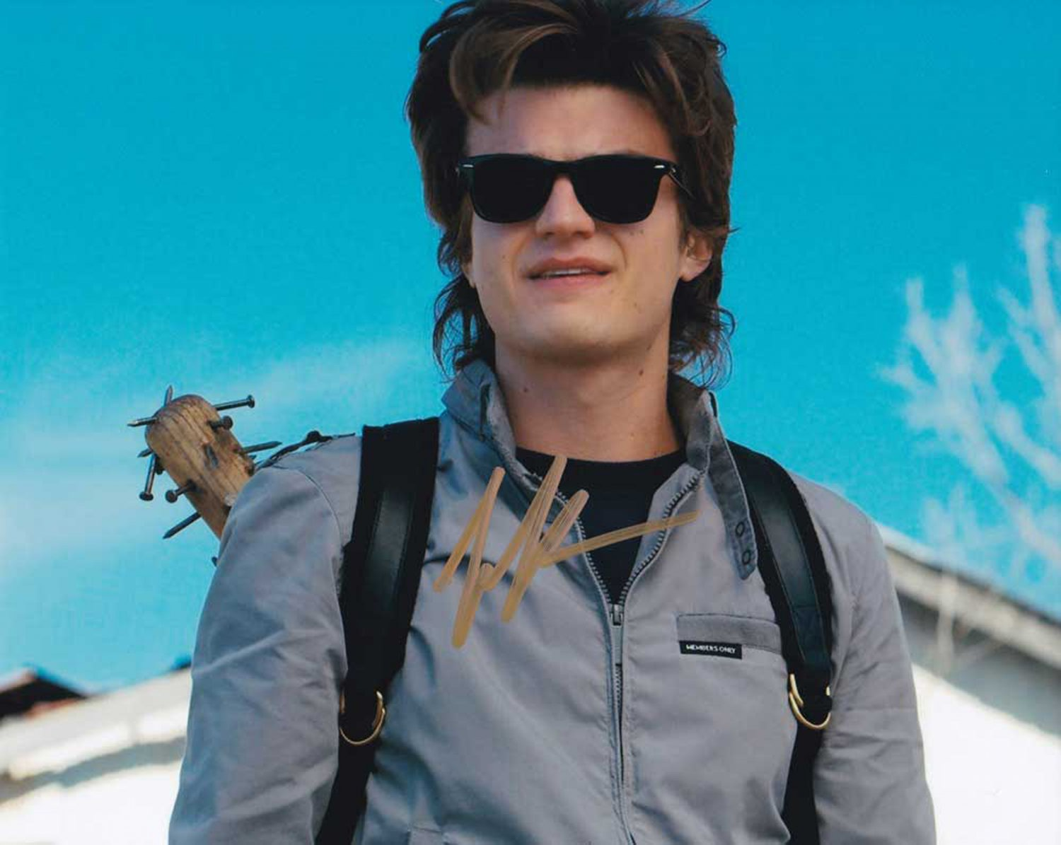 """Joe Keery Stranger Things 8 x 10"""" Autographed / Signed Photo (Reprint 821 Great Gift Idea!)"""
