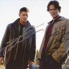 Supernatural Cast X 2 Autographed Photo Jensen Ackles & Jared Padalecki (Reprint 824)