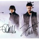 Supernatural Cast X 2 Autographed Photo Jensen Ackles & Jared Padalecki (Reprint 825
