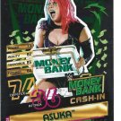 Asuka - Money In The Bank- Cash In Topps WWE Slam Attax 2020 Now, Then & Forever Reloaded