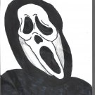 Ghostface Limited Edition A4 Art Print + Digital Download By Kurt Wright
