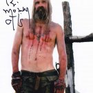 """Bill Moseley as Otis Driftwood 8 x 10"""" Autographed Photo House Of 1000 Corpses (Reprint:900)"""