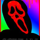 Ghostface Dripping Blood Limited Edition A4 Art Print + Digital Download By Kurt Wright