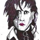Edward Scissorhands A4 Pen Drawing + Digital Download Fan Art By Kurt Wright