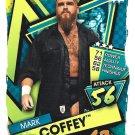 Mark Coffey #100 WWE Slam Attax 2021 Trading Card.
