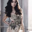 Nina Dobrev 8 x 10 Autographed / Signed Photo The Vampire Diaries, The Final Girl (Reprint 910))