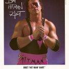 "WWF / WWE Bret ""Hitman"" Hart 8 x 10 Autographed / Signed Photo (Reprint)"