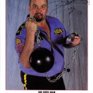 RARE WWF / WWE Big Boss Man 8 x 10 Autographed / Signed Photo (Reprint)
