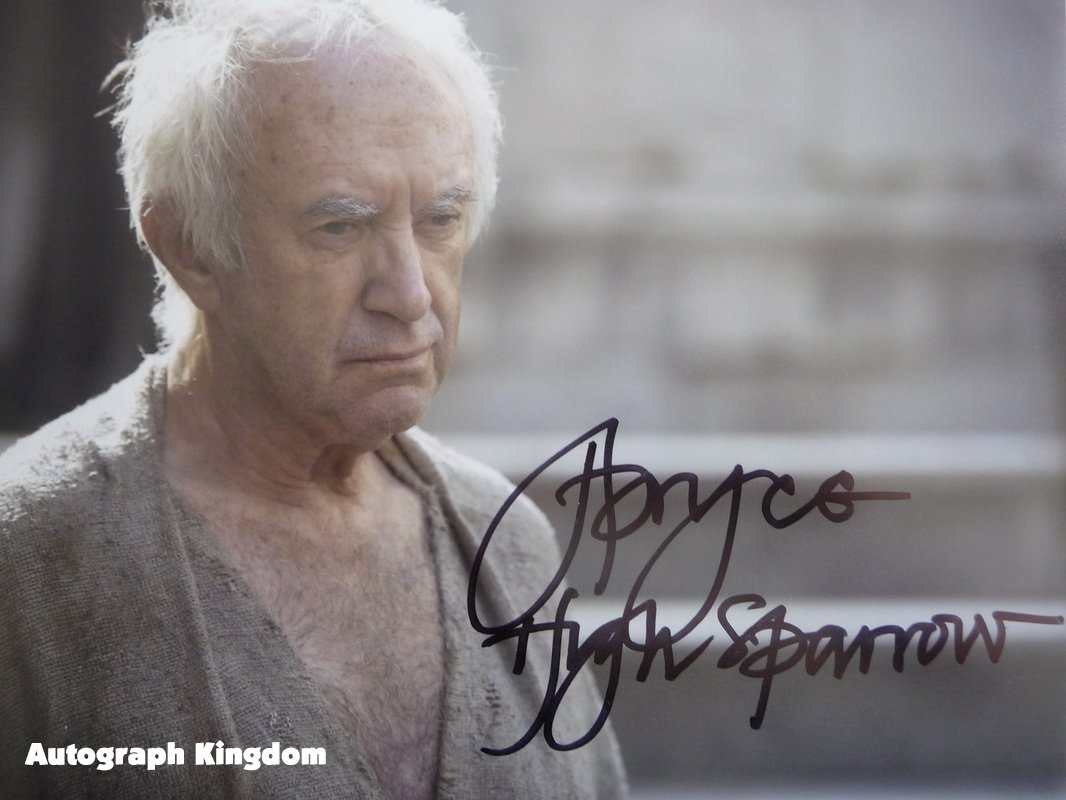 Jonathan Pyrce Game of Thrones 8 x 10 Autographed Photo (Reprint 648 Great Gift Idea!)