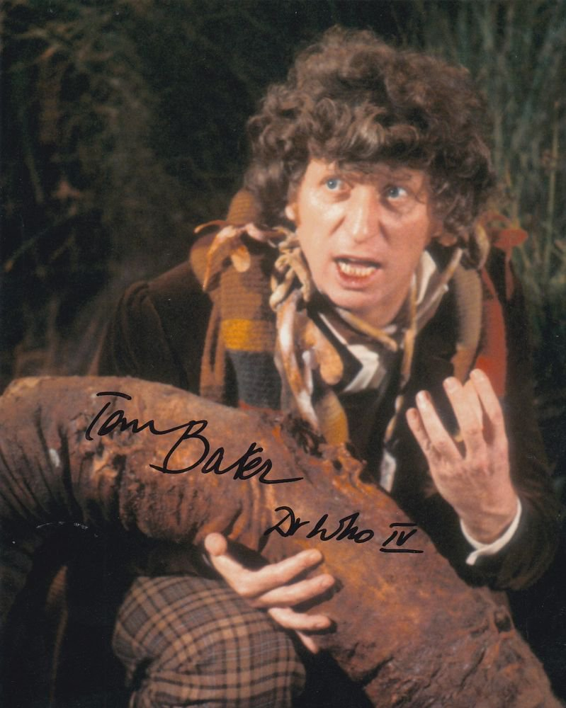 Tom Baker Dr Who 8 x 10 Autographed / Signed Photo (Reprint 655 Great Gift Idea)
