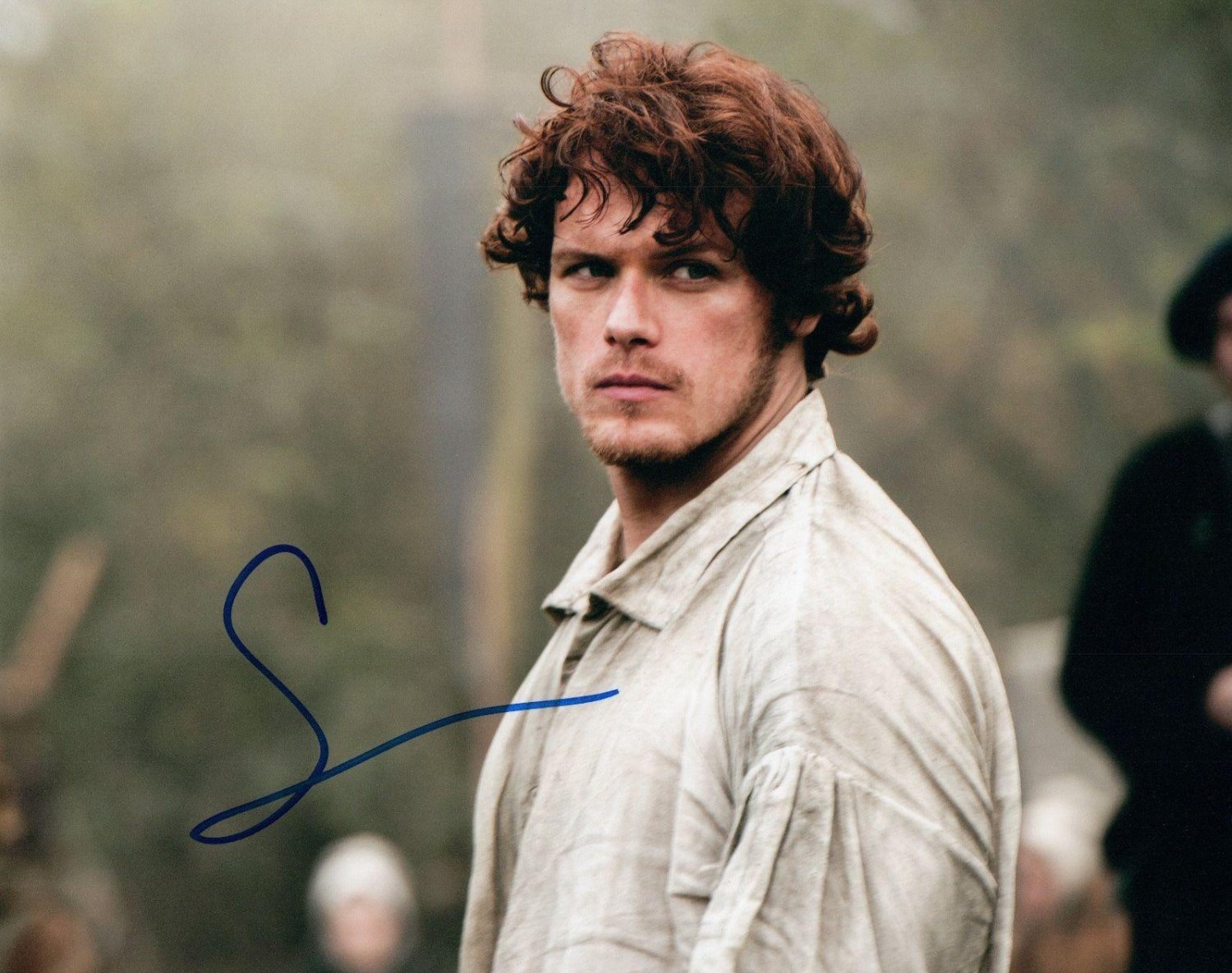 Sam Heughan Outlander 8 x 10 Autographed Photo (Reprint 665 Great Gift Ideal))