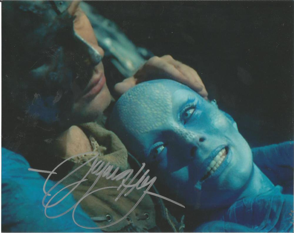 Virgin Hay 8 x 10 Autographed / Signed Photo Farscape (Reprint 645 Great Gift Idea!)