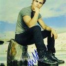 Paul Wesley Stefan Salvatore 8 x 10 Autographed Photo The Vampire Diaries (Reprint 876)