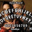 Ouija Board Bizarre Magick Spike A4 laminated sheet fortune Seance Halloween.