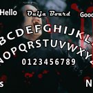 Vampire V.1 Ouija Board Bizarre Magick A4 laminated sheet fortune Seance Halloween.