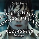 Dark Shadows Ouija Board Bizarre Magick A4 laminated sheet fortune Seance Halloween.