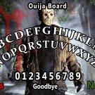 Jason Voorhees Ouija Board Bizarre Magick A4 laminated sheet fortune Seance Halloween.