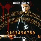 Michael Myers Ouija Board Bizarre Magick A4 laminated sheet fortune Seance Halloween.
