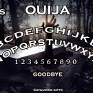 Rise of The Zombies Ouija Board Bizarre Magick A4 laminated sheet fortune Seance Halloween.