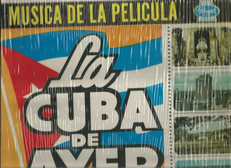 LA CUBA DE AYER * MUSICA DE LA PELICULA *  VINYL