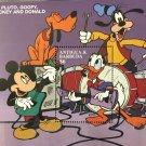 Mickey Mouse Donald Duck Pluto Goofy mnh souvenir sheet Antigua & Barbuda