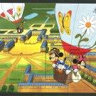 Mickey Donald Goofy Balloons mnh Souvenir Sheet 1989 Grenada Grenadines