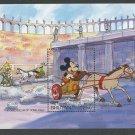 Mickey Mouse Colussuem Chariot Horse Donald Goofy mnh Souvenir Sheet 1991 Bhutan #969