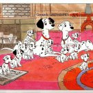 101 Dalmatians mnh souvenir sheet 1988 Grenada Grenadines #994 puppies dogs