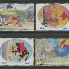 Winnie the Pooh Christopher Robin set of 4 mnh stamps 2010 Mali