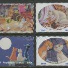 The Aristocats Disney Kittens set of 4 mnh stamps 2010 Mali