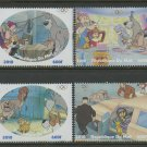 Oliver and Company Disney Dogs Kitten set of 4 mnh stamps 2010 Mali