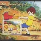Disneyland 50th Anniversary MNH Imperf Souvenir Sheet 2005 Liberia