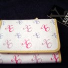 XOXO - Blast of Color Pink Trifold Wallet