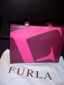 Furla - Purple/Pink Italian Leather Shoulder Bag