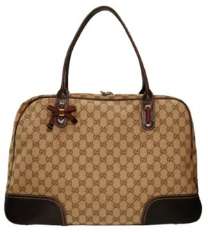 Gucci Handbags (Beige/Brown) 162881 Princy Extra Large Shopper Tote