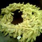 Green fur scarf