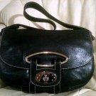 Bally Luna Shoulder Bag (Black Leather)