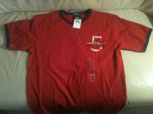 Ralph Lauren T-shirt (red, Boy XL - 16)