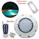 12V 36W 45W Underwater Light Bulb RGB Color LED f/ Fountain Swimming Pool+Remote