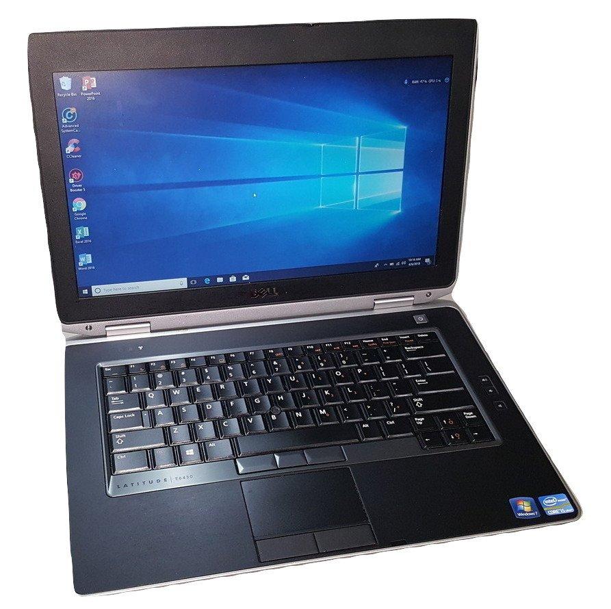Dell Latitude e6430 Laptop- 3rd Gen Intel Core i5 CPU, 8GB-16GB RAM, HD or SSD, Win 7 or Win 10 PRO