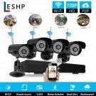4 Channel Complete CCTV Wireless Camera Security System w/ 1TB DVR- NEW!!