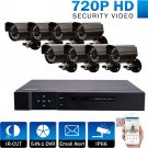 8 Channel Complete 1080p CCTV Camera Security System w/ 1TB DVR- NEW!!