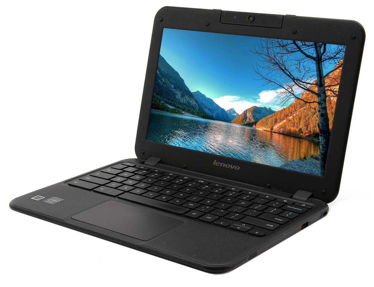 "Lenovo N21 11.6"" ChromeBook- Dual-Core Celeron CPU, 4GB RAM, 16GB Solid State Drive, Chrome OS 85"