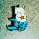 """Adorable """"Purrmaid"""" Mermaid Cat Enamel Pin"""